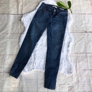 Guess Marylin 3 Zip Ankle Skinny Jeans 25